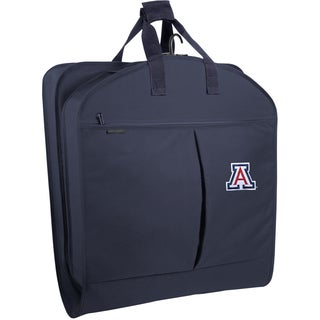 WallyBags Arizona Wild Cats Navy Polyester 40-inch Garment Bag with Pockets