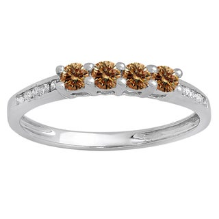 Elora 14k Gold, Diamond Bridal Anniversary Wedding Band Stackable Ring