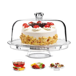Clear Acrylic Appetizer Serving Tray