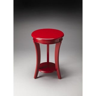 Butler Holden Red Wood Accent Table