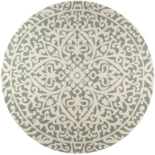 Hand-Hooked South Beach Venetian Indoor/Outdoor Polypropylene Rug (9' Round)