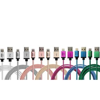 Rhino 6.6 ft. Sync/ Charge Apple MFI Certified Multicolor Lightning Cable for iPhone 5/ 5s/ 5c/ SE/ 6/ 6s/ 6+/ 6s+/ 7/ 7+|https://ak1.ostkcdn.com/images/products/12044597/P18915043.jpg?_ostk_perf_=percv&impolicy=medium