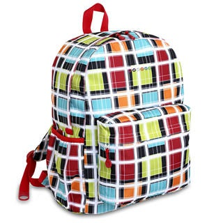 J World OZ Color Stripe Campus Backpack