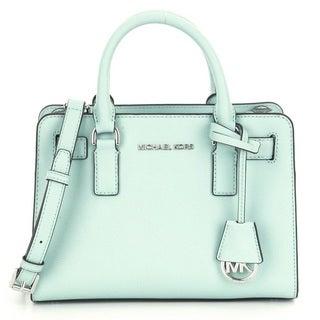 Michael Kors Dillon CeladonTop Zip East/West Leather Satchel Handbag
