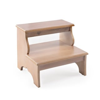 Handmade Butler Melrose Driftwood Step Stool (China)