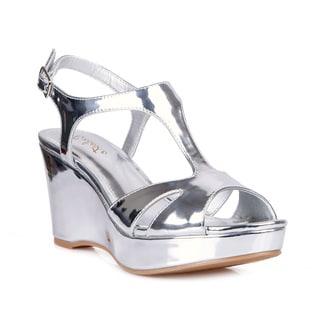 Celeste Hedy-02 Women's Wedge Party Sandals