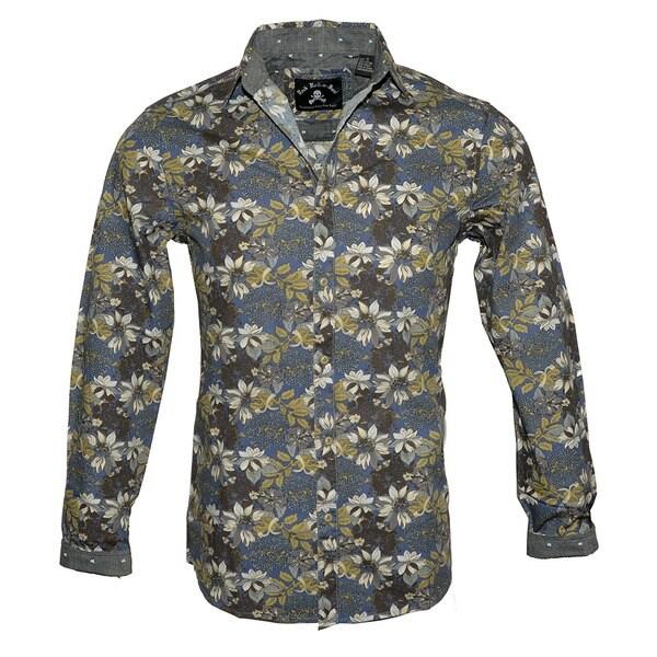 4e1ca63d2f2b Shop Men's Floral Fashion Long Sleeve Button Up Shirt by Rock Roll n ...