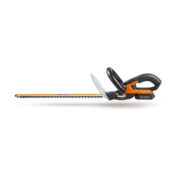"Worx WG255.1 20V Cordless 20"" Electric Hedge Trimmer"