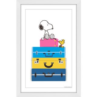 Marmont Hill 'Ready to Travel' Framed Painting Print