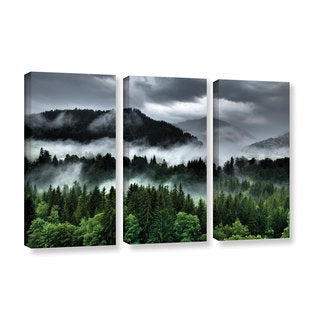 Ken Skehan's 'After an Alpine Summer Storm' 3-Piece Gallery Wrapped Canvas Set