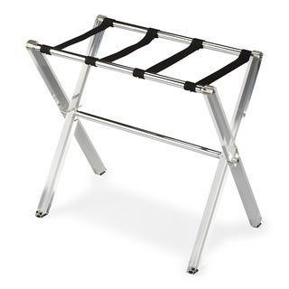 Handmade Butler Crystal Clear Acrylic Luggage Rack (China)