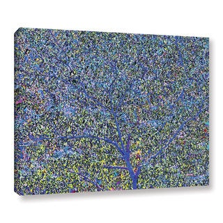 Ken Skehan's 'Natural Abstract Bush Foliage number 2' Gallery Wrapped Canvas