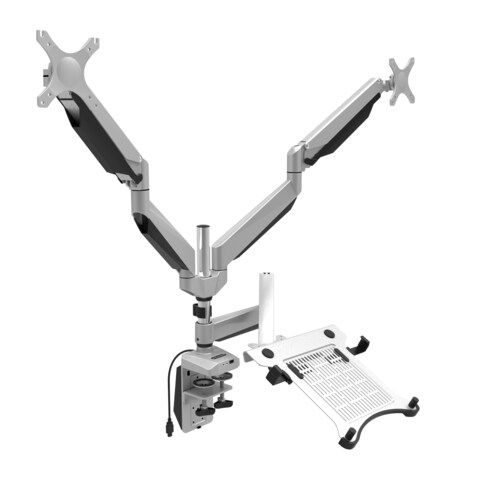 Loctek Swivel Triple-arm LCD Laptop/Monitor Mount