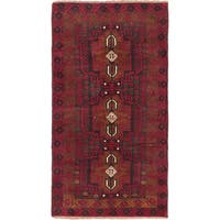 ecarpetgallery Hand-knotted Kazak Red Wool Rug (3'5 x 6'2)