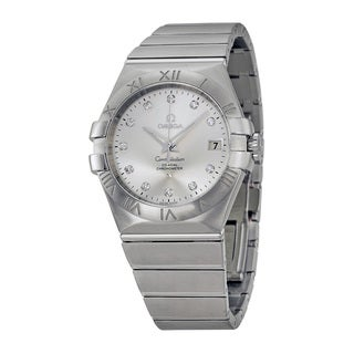 Omega Men's 12310352052001 Constellation Silver Watch