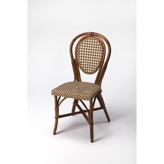 Butler Leena Brown Rattan Side Chair
