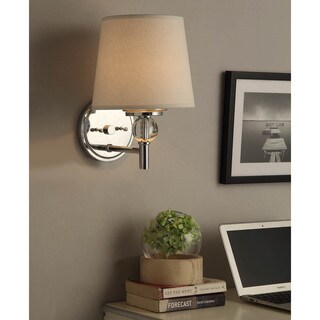 Chrome 1-light Wall Sconce