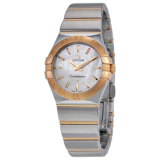 Omega Women's 12320276005003 Constellation White Mother of Pearl Watch