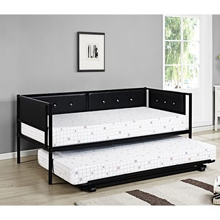 K&B Twin Upholstered Day Bed