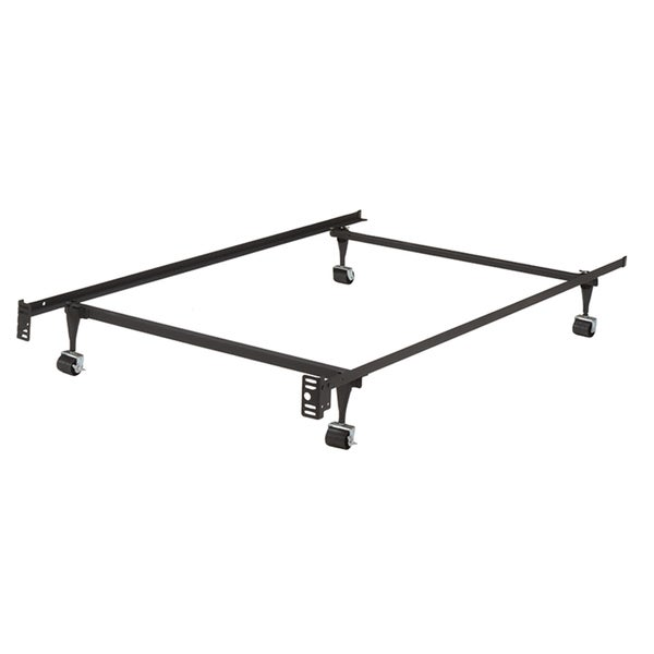 Shop K&B B9000 1 1/4-inch Angle Iron Steel Twin-size Bed Frame With ...