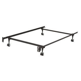 Shop K B B9000 1 1 4 Inch Angle Iron Steel Twin Size Bed Frame With