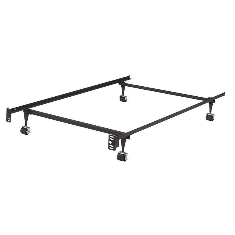 K&B B9000 1 1/4-inch Angle Iron Steel Twin-size Bed Frame...