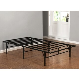 K and B Furniture Co Inc B1039T Black Metal Twin-size Platform Bed Frame