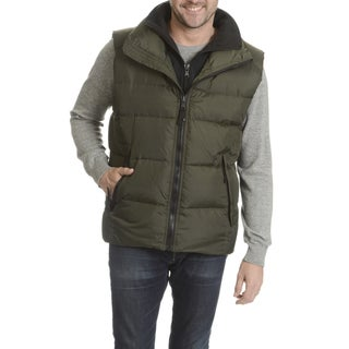 S13 Men's Quilted Stand-collar Down Vest