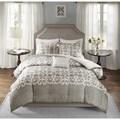 Madison Park Novella Grey 7-piece Comforter Set