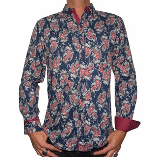 Rock Roll N Soul Men's 'PAISLEY PARK' Woven Shirt