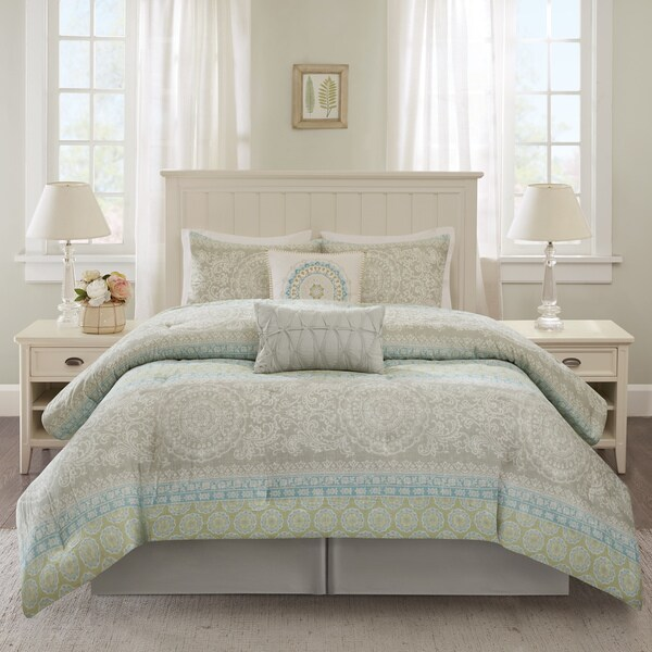 Harbor House Adeline Multi Cotton 6-piece Comforter Set