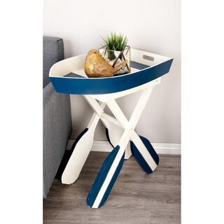 Well-designed Wood Boat Table