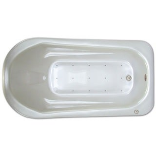 Signature Bath White Acrylic 72-inch x 36-inch x 18-inch Drop-in Air Bathtub (2 options available)