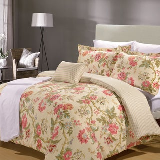 Tea Time 8 Piece Duvet Cover and Sheet Set