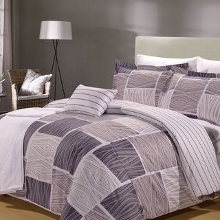 Zigzag 8 Piece Duvet Cover and Sheet Set