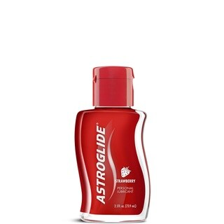 Astroglide Strawberry Liquid 2.5-ounce Personal Lubricant