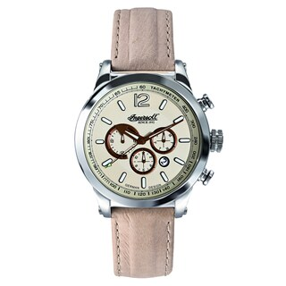 Ingersoll Men's Taos White Leather Analog Watch