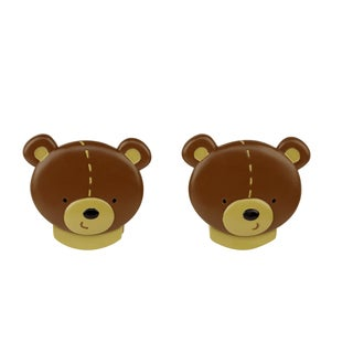Crown Crafts NoJo Bear Wall Decor Clips