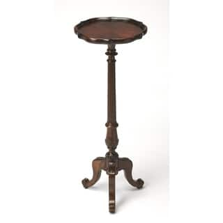 Butler Chatsworth Plantation Cherry Pedestal Plant Stand|https://ak1.ostkcdn.com/images/products/12046032/P18916773.jpg?impolicy=medium