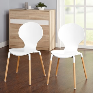 Simple Living Padova Bentwood Chairs (Set of 2)