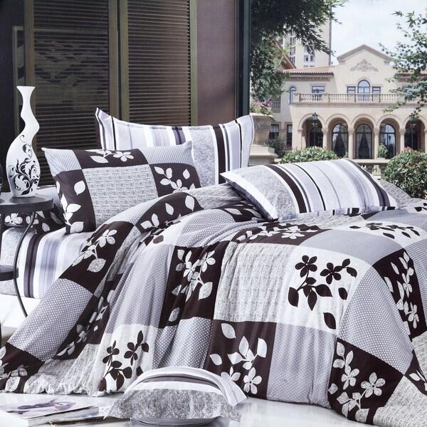 Orient Cotton 4 Piece Duvet Cover Set