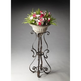 Butler Metal and Stone Planter