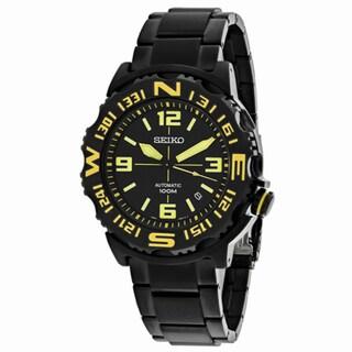 Seiko Men's 'Superior' Stainless Steel Watch - Black