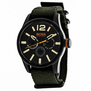 Hugo boss Men's 1513312 Orange Watch