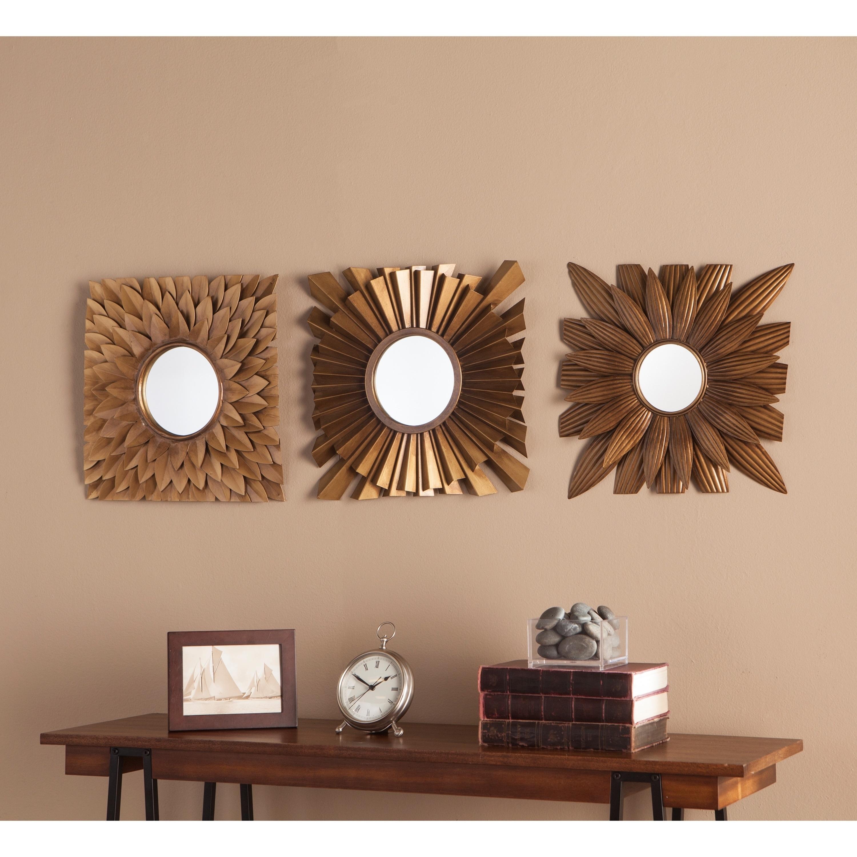 Shop Harper Blvd Lakin 3pc Decorative Mirror Set Free