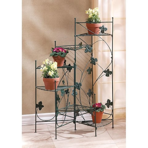 Leafy 6-Shelf Graduating Plant Stand