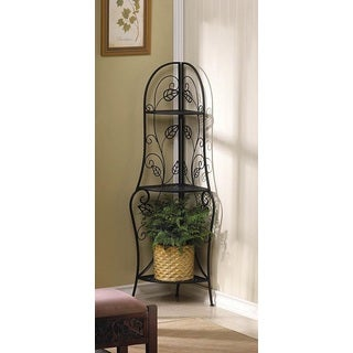 Dover Decorative Metal Corner Rack