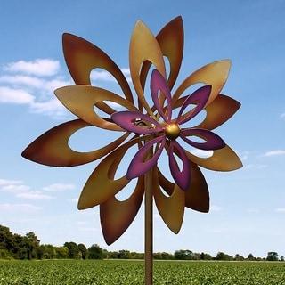 Dafodill Wind-Powered Garden Windmill
