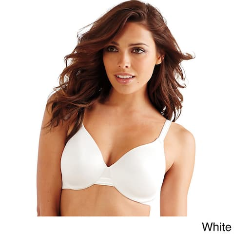 Bali Women's One Smooth U Multicolor Nylon/Polyester/Spandex Smoothing Concealing Underwire