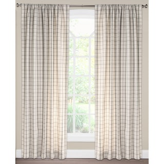 Clearwater Plaid Curtain Panel